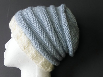 HOW TO BIND OFF Your Hat With A Knitting Needle - EASY