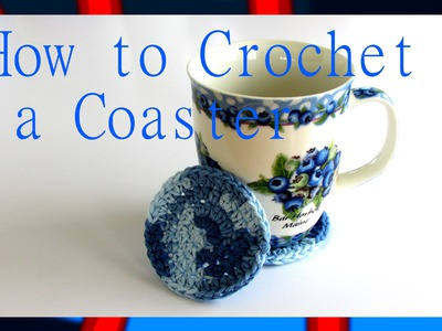 How to Crochet a Coaster-[Simple and Easy!]