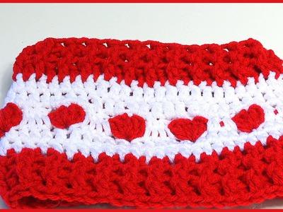 How to Crochet a Ear Warmer