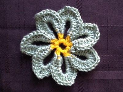 How to Crochet a Flower Pattern #26 │by ThePatterfamily