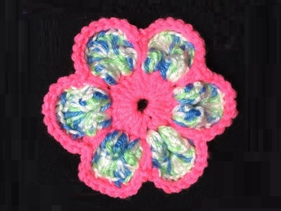 How to Crochet a Flower Pattern #58│by ThePatterfamily