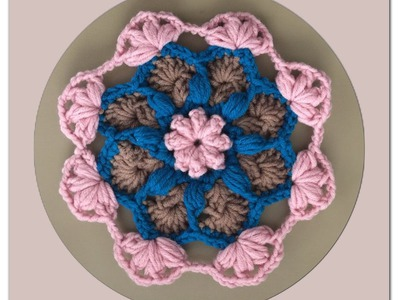 How to Crochet a Flower Pattern #51 │by ThePatterfamily