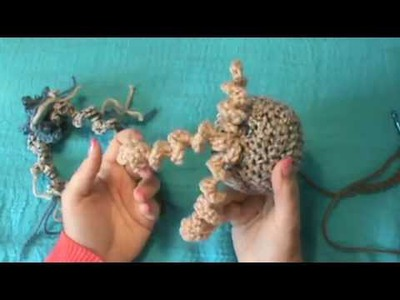 How to Crochet a Spiral. Corkscrew. Curly Q