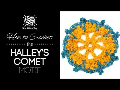 How to Crochet the Halley's Comet Motif Stitch