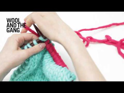 How to join a new ball of yarn in knitting