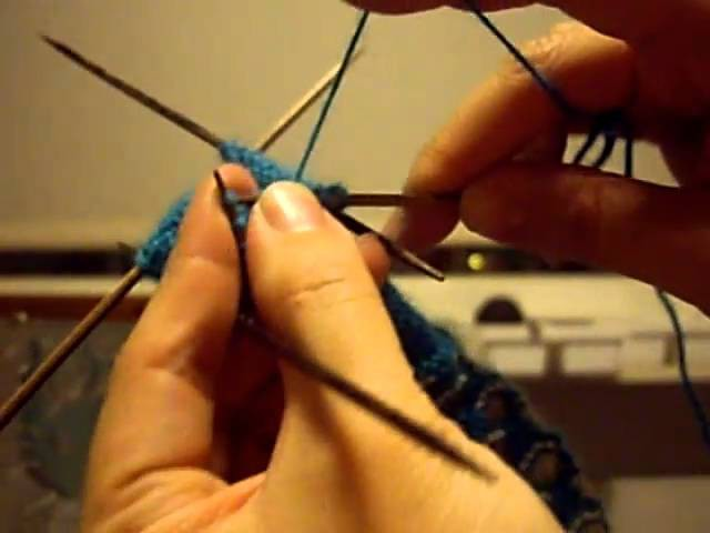 How to Knit a Sock Part 6: Decreasing the Toe!