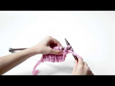 How To Knit Half-Twisted Rib