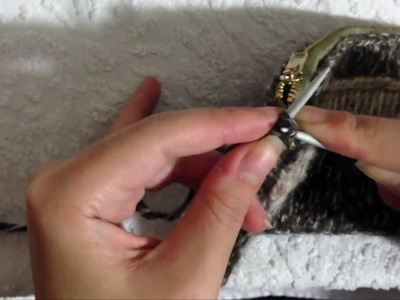 How to Knit iCord  for Handbag Wrist Strap