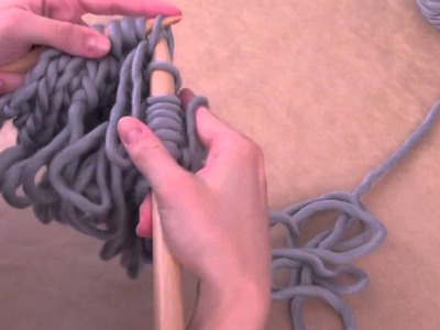 How to knit loop stitch | We Are Knitters