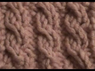 How to Knit the Cable Ribbing Stitch by ThePatterfamily