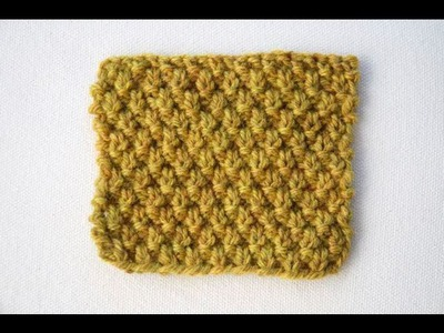 How to Knit the Double Moss Stitch