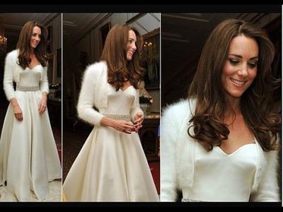 How To Knit The Kate Middleton Angora Rabbit Sweater.Bolero.Shrug Part I