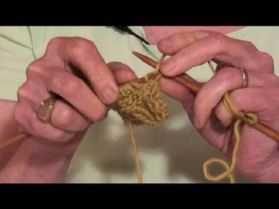 How to Knit Tightly Using Continental Knitting : Knitting