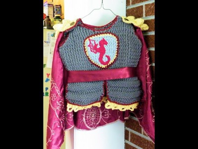 How to Loom Knit a Knight's Tunic