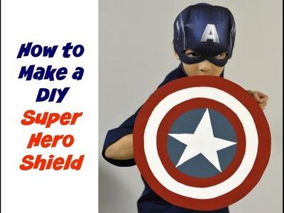 How to Make a DIY Super Hero Shield - DIY Tutorial: Thrift Diving