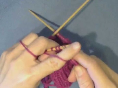 How to Make a Right Twist in Knitting