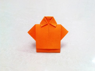How to make an origami paper t-shirt | Origami. Paper Folding Craft, Videos and Tutorials.