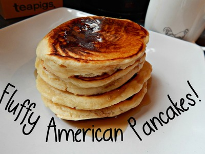 How To Make Fluffy American Pancakes! DIY ¦ The Corner of Craft