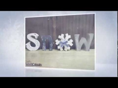 January & Winter Wood Crafts - Unfinished & DIY Craft Ideas