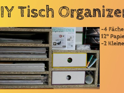 [KoOp Craft] DIY Tisch Organizer | März Projekt