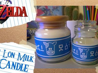 Lon Lon Milk Candle DIY Tutorial