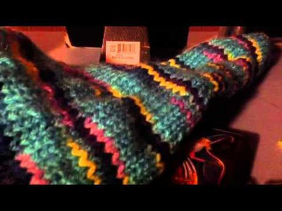 Mena's Tutorial On How To Knit A Stocking Cap Part 15