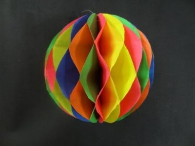Ball make the worlds biggest waterball orbeez stress ball for Easy things to make out of paper