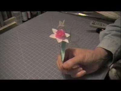 Paper Daffodil Tutorial - Spring Paper Craft 2012