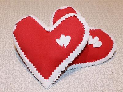 ВАЛЕНТИНКИ из Фоамирана Своими Руками. Valentine's Crafts - Foami Tutorial