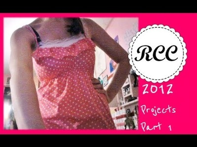 2012 Projects Part 1-Rachel's Craft Channel