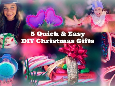 5 Quick & Easy DIY Christmas Gifts