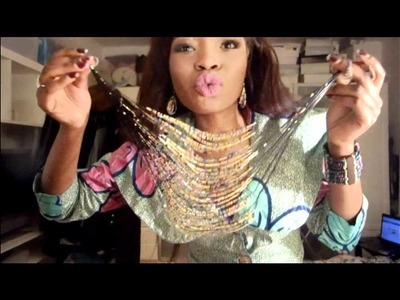 AFRICAN BEADS AND ACCESSORIES PART1