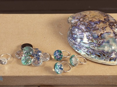 Arts & Crafts Tutorial: How to make fake Paua.Abalone Shell