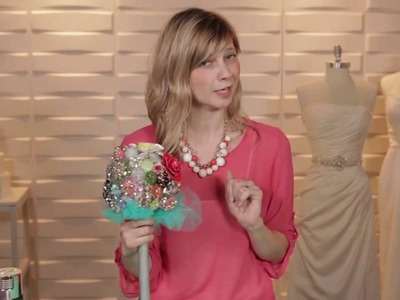 Brooch Bouquet DIY -- The Knot