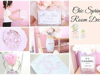 Chic Spring Room Decor ♡ Girly & DIY