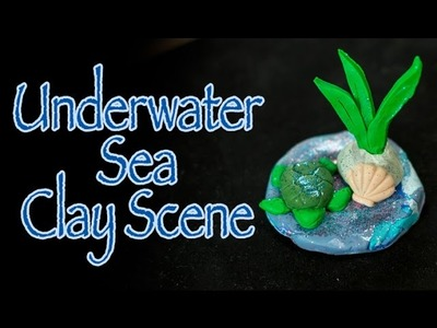 Clay Sea Scene Craft with a guest