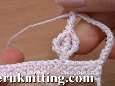 Cluster Stitch Under Post Tutorial 27 Crochet Complex Stitch