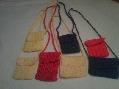 #crochet - cell phone case.mini purse, I-pod case