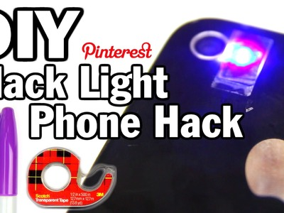 DIY Black Light Phone Hack - Man Vs. Pin #32