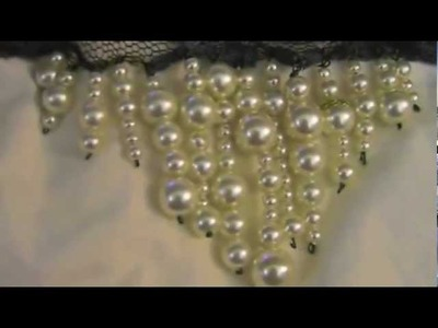DIY: Christian Dior Pearl Lace Necklace