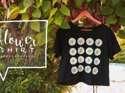 DIY Clothes: Daisy Graphic Tshirt ♦ Estampa tus Camisetas o Playeras (How-To)