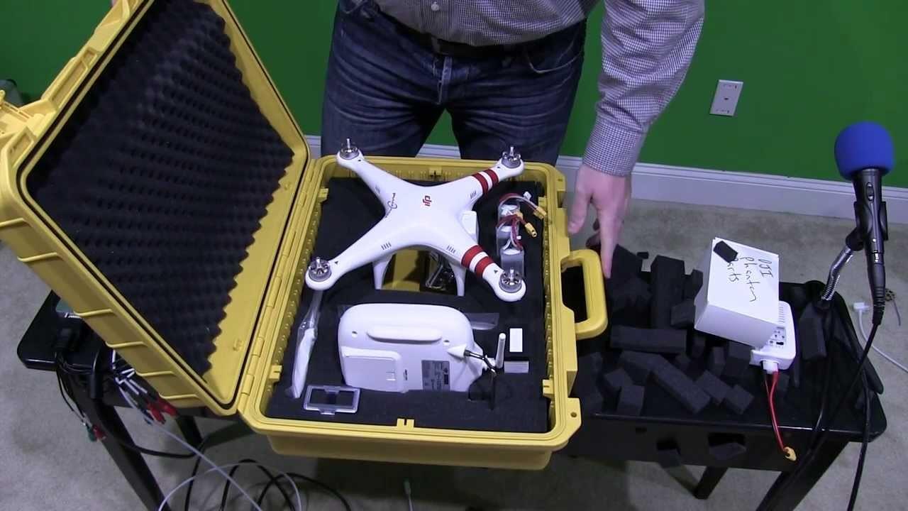 DIY DJI Phantom Case: Waterproof & Ruggedized Step-by-Step Tutorial