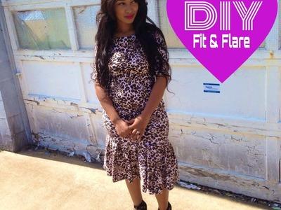 DIY: Fit & Flare (Trumpet Dress)
