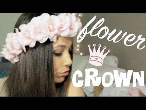 ♛ DIY: Flower Crown ♛