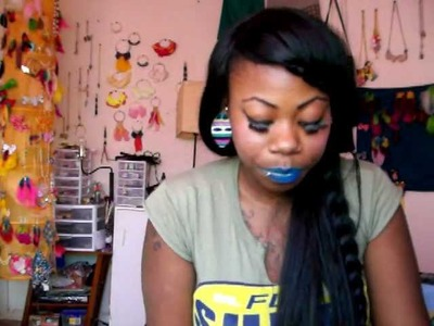 DIY:How to get blue lips