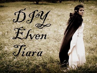 DIY: How to make Elven.Elf Tiara (circlet)