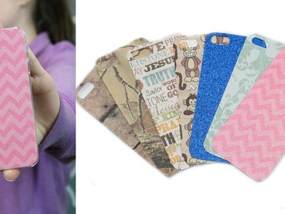 DIY Interchangeable iPhone Case | Sizzix Teen Craft