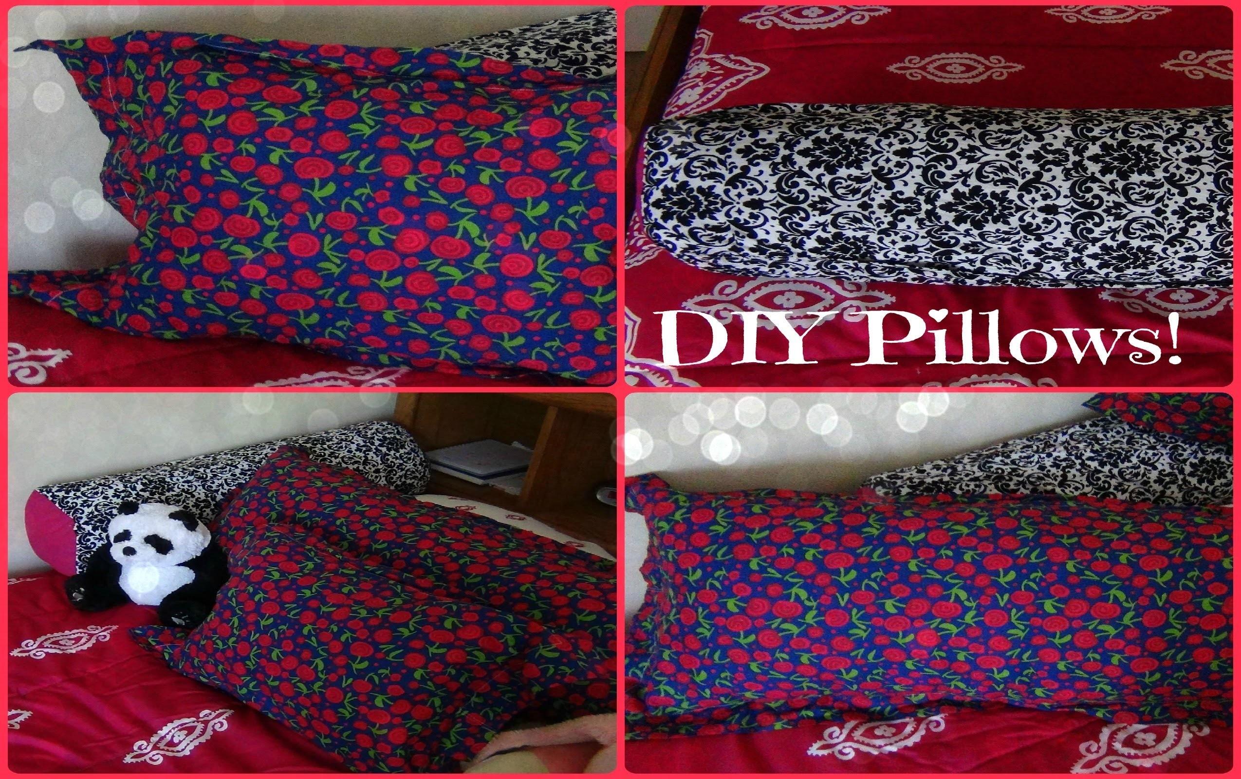 diy pillows