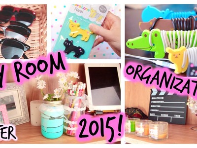 DIY: Room Organization & Storage Ideas | 2015