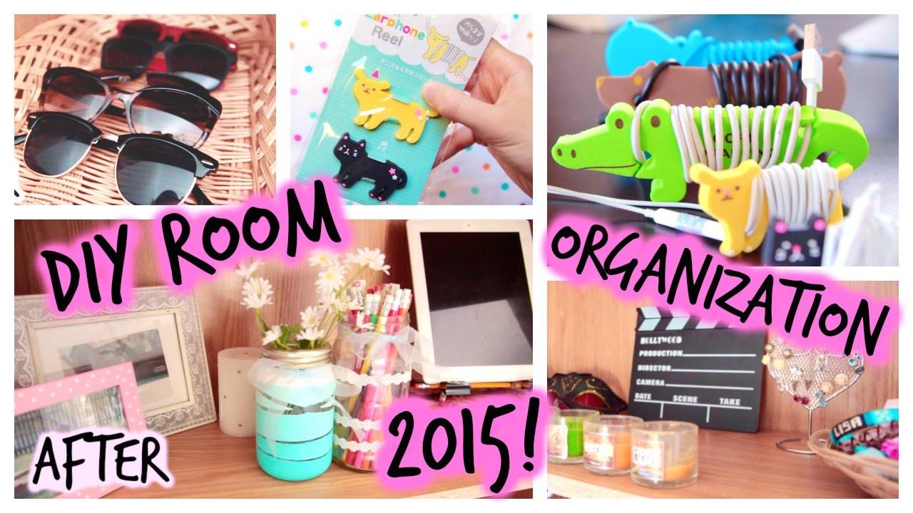 DIY: Room Organization & Storage Ideas | 2015